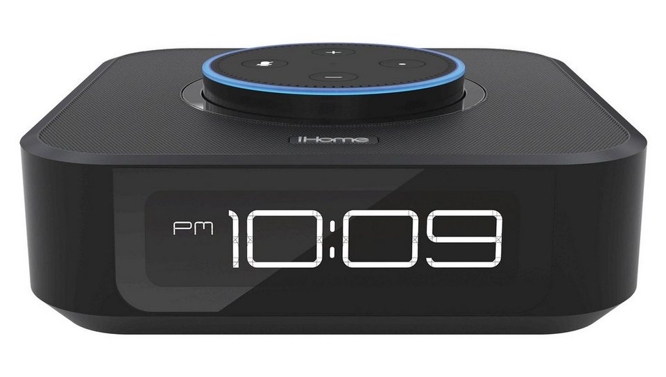 ihome dockingstation f r amazon alexa echo dot iavs1. Black Bedroom Furniture Sets. Home Design Ideas