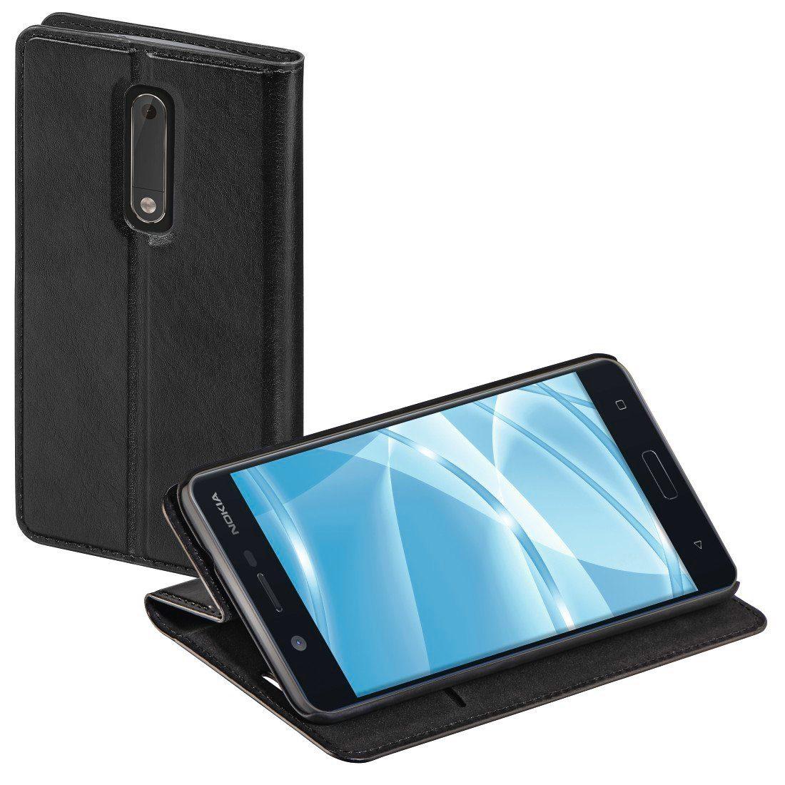 Hama Booklet Single für Nokia 5, Schwarz