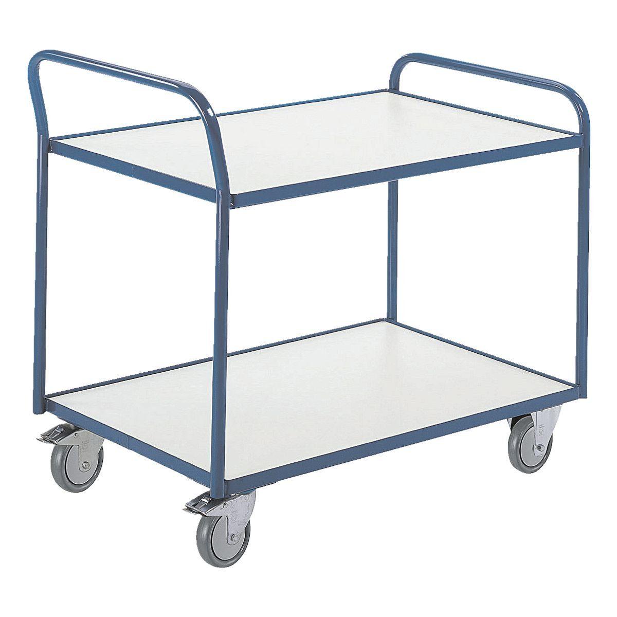 ROLLCART Tischwagen mit 2 Etagen ESD