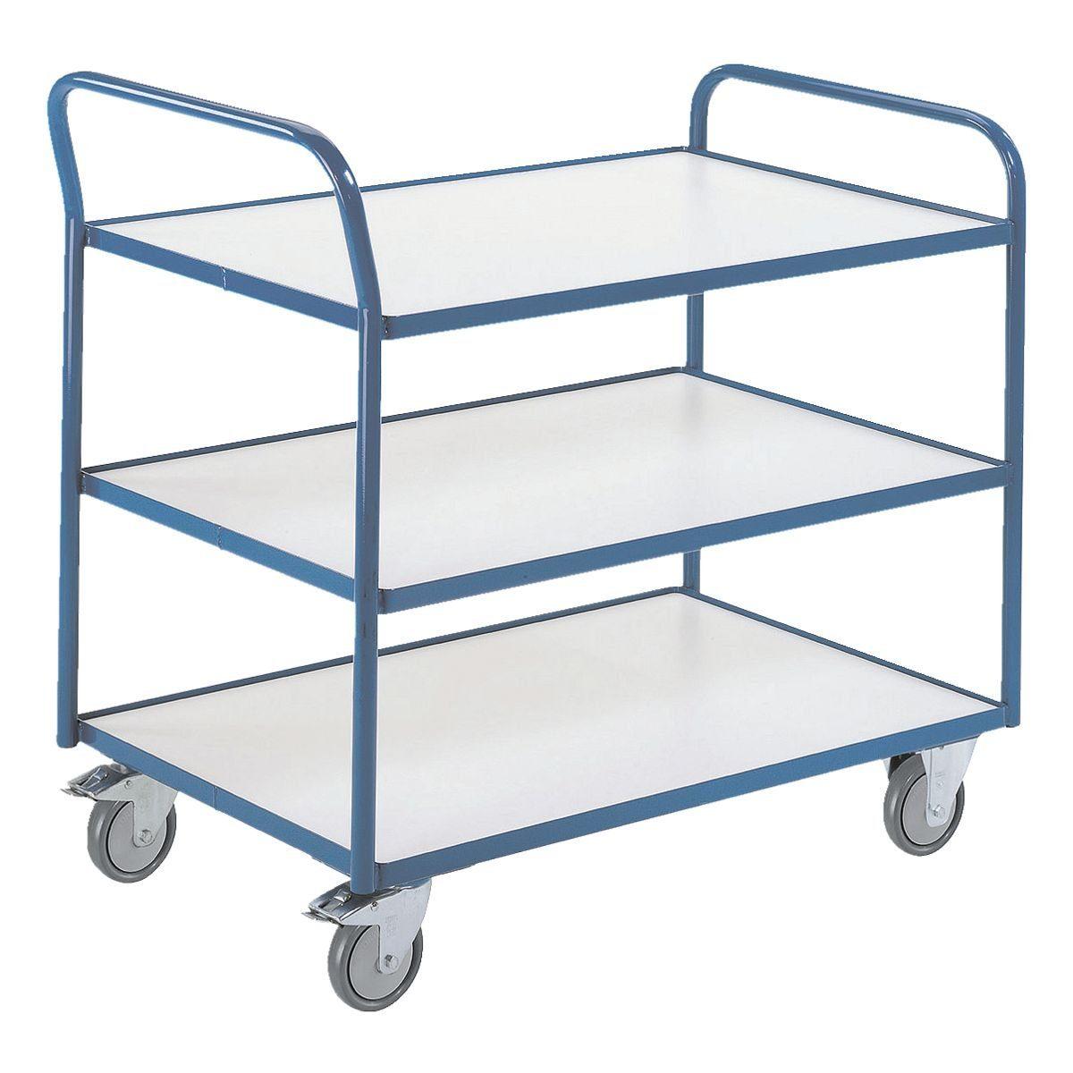 ROLLCART Tischwagen mit 3 Etagen ESD