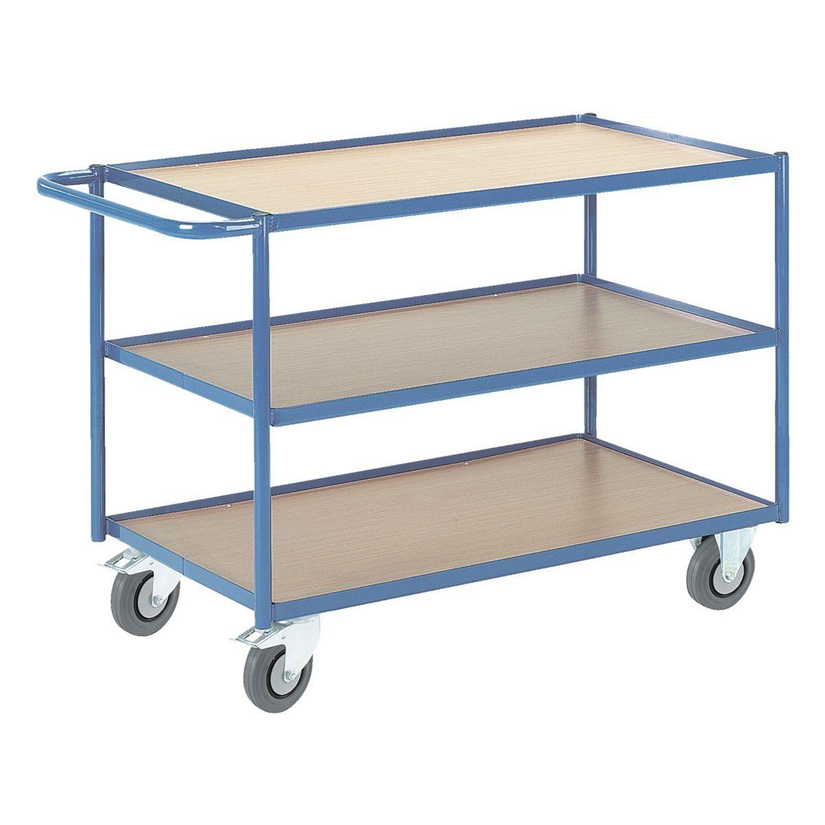 ROLLCART Tischwagen mit 3 Etagen