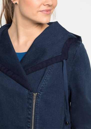 sheego Denim Jeansjacke