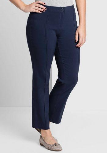 Damen sheego Style Anzughose blau | 04054697781779