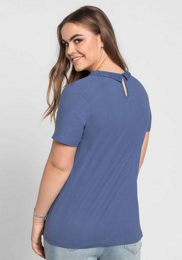 sheeGOTit T-Shirt, mit Bubikragen