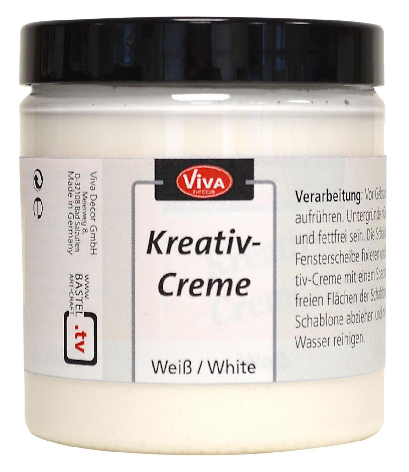 "Viva Decor Fenstermalfarbe ""Kreativ-Creme"" 250 ml"