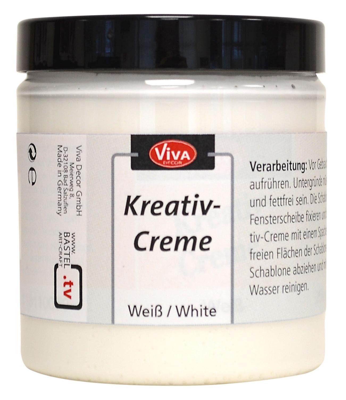 """Viva Decor Fenstermalfarbe """"Kreativ-Creme"""" 250 ml"""