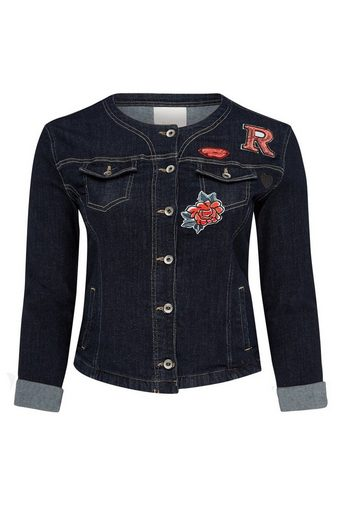 Belloya Denim Jacket, With Patches