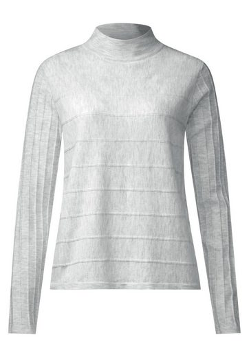 Street One Turtleneck Pulli mit Biesen
