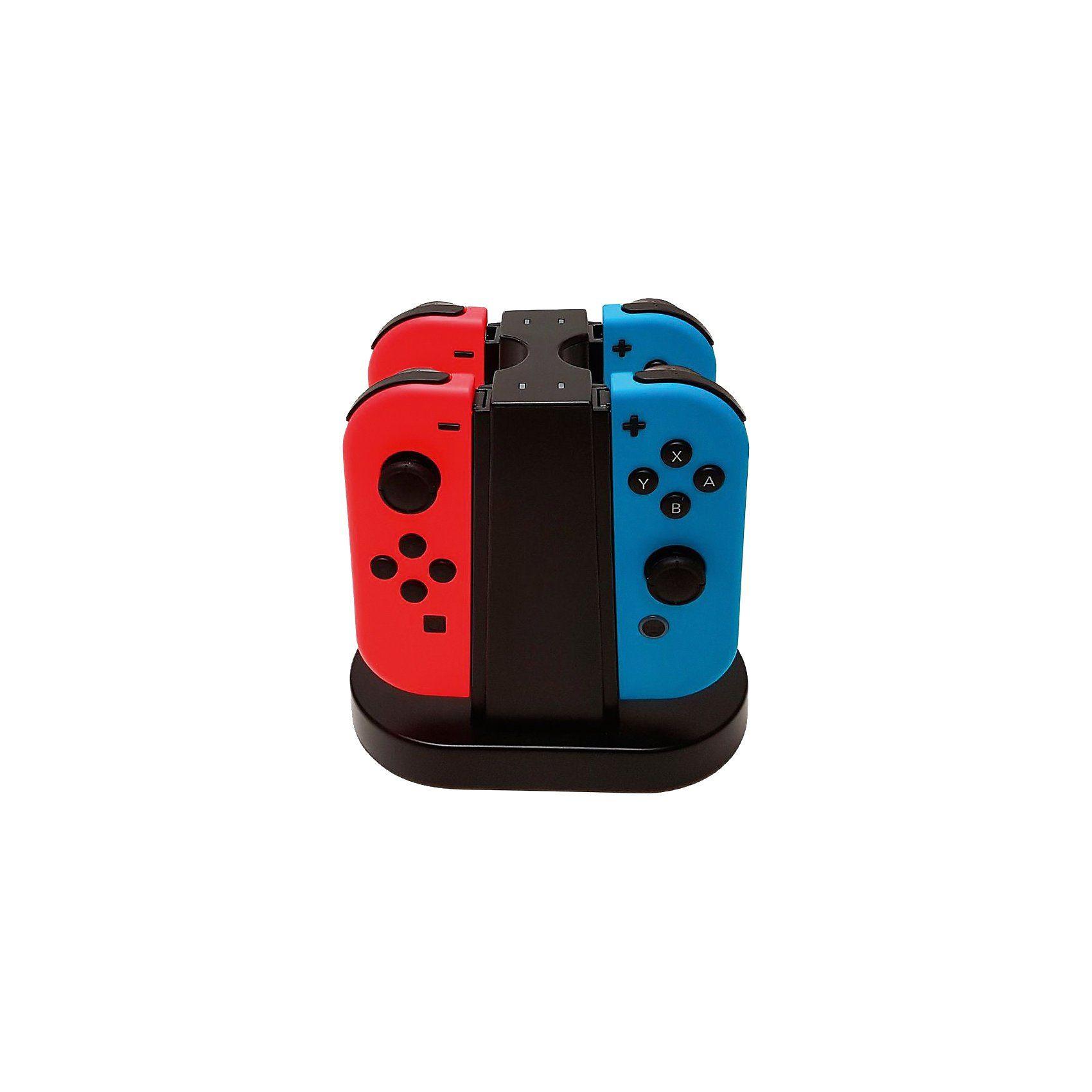BigBen Nintendo Switch Quad Charging Station für Joy-Con