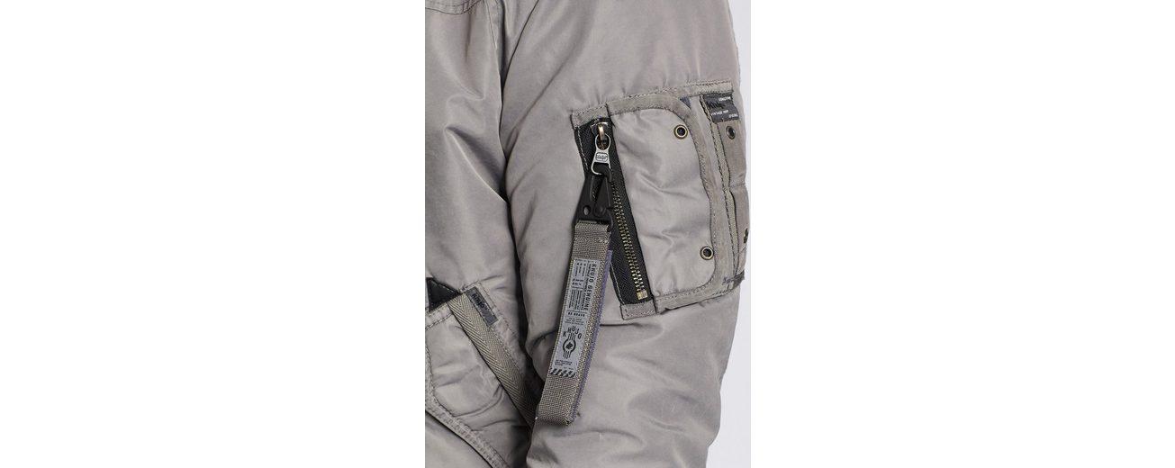 khujo Bomberjacke NOIN WITH INNER JACKET, mit vielen Reißverschlusstaschen
