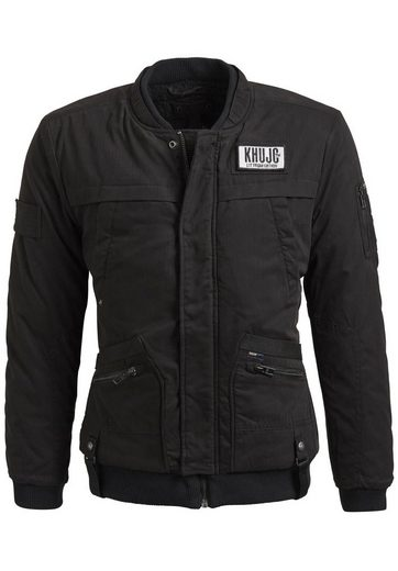 Khujo Winter Jacket Paul, With Zipper And Push Button Strip
