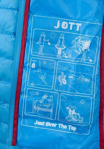 JOTT Daunenjacke CHLOE, die Jacke ist zusammenfaltbar und in einem dazugehörigen Beutel verstaubar