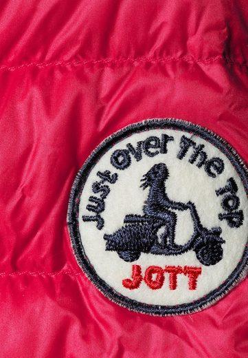 JOTT Daunenjacke CHA Federleicht, die Jacke ist zusammenfaltbar und in einem dazugehörigen Beutel verstaubar