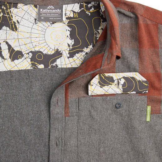 Kathmandu Leichtes Reisehemd für Herren Federate v2