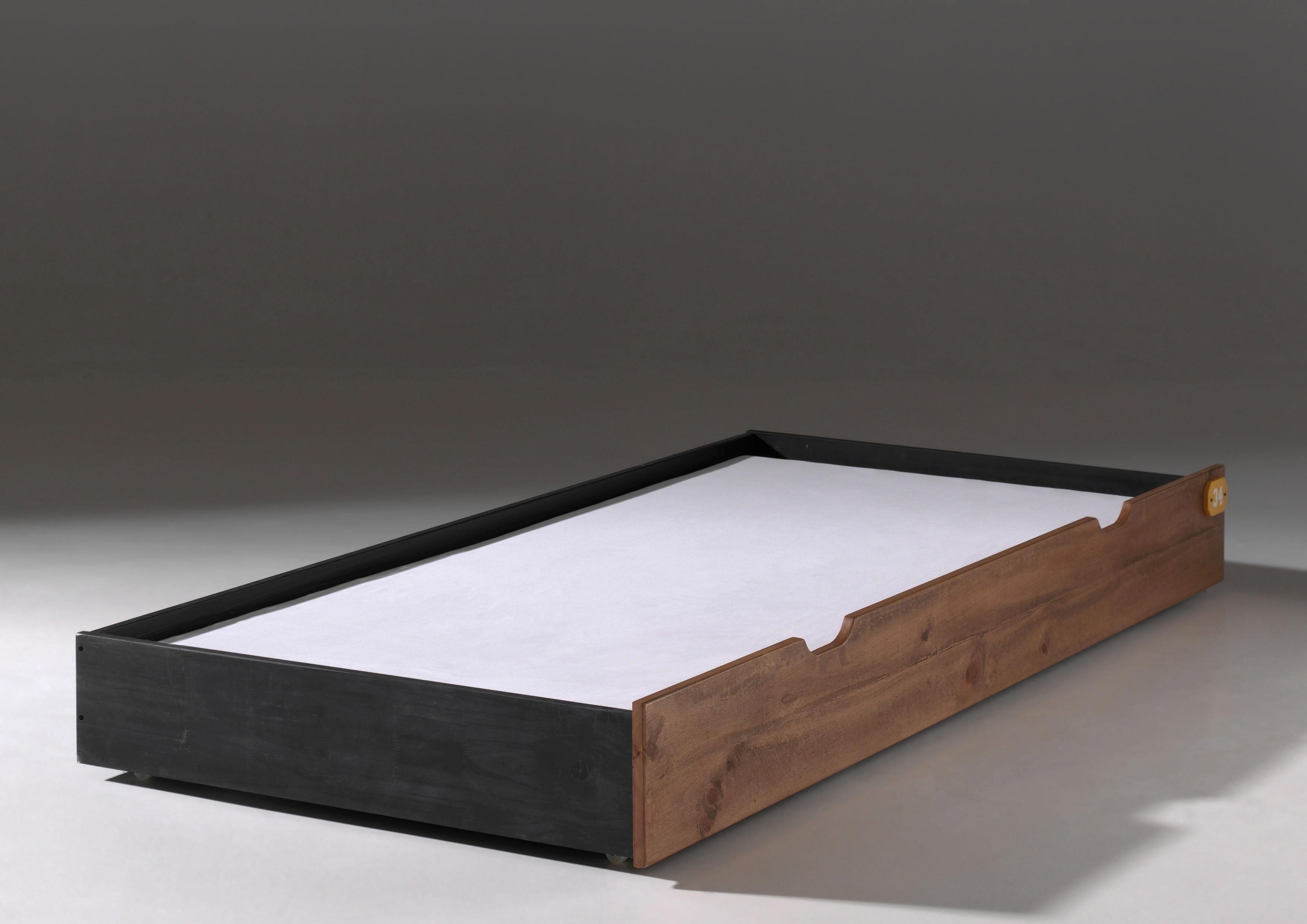 Vipack Bettschubkasten »Alex« aus teilmassiver Kiefer und MDF
