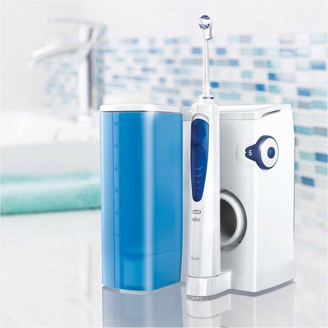 Oral B Munddusche OxyJet, Aufsätze 4 St., Mikro-Luftblasen-Technologie
