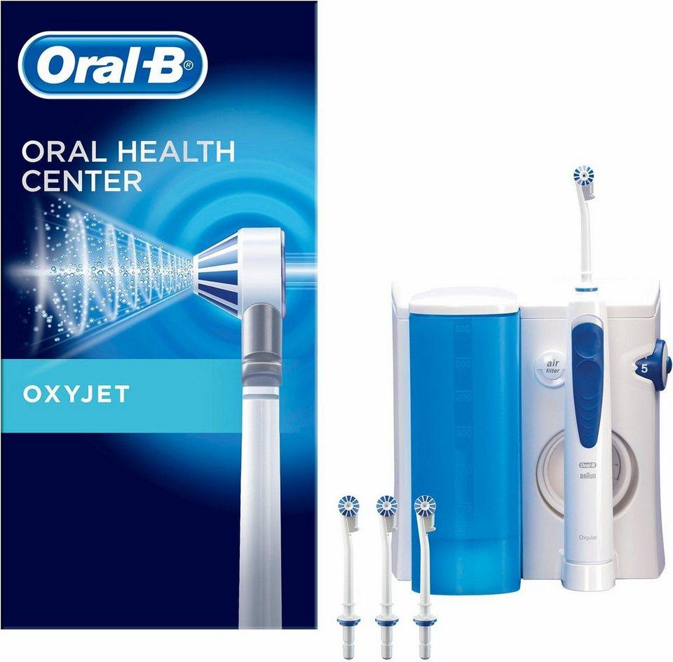 oral b munddusche oxyjet aufs tze 4 st kaufen otto. Black Bedroom Furniture Sets. Home Design Ideas