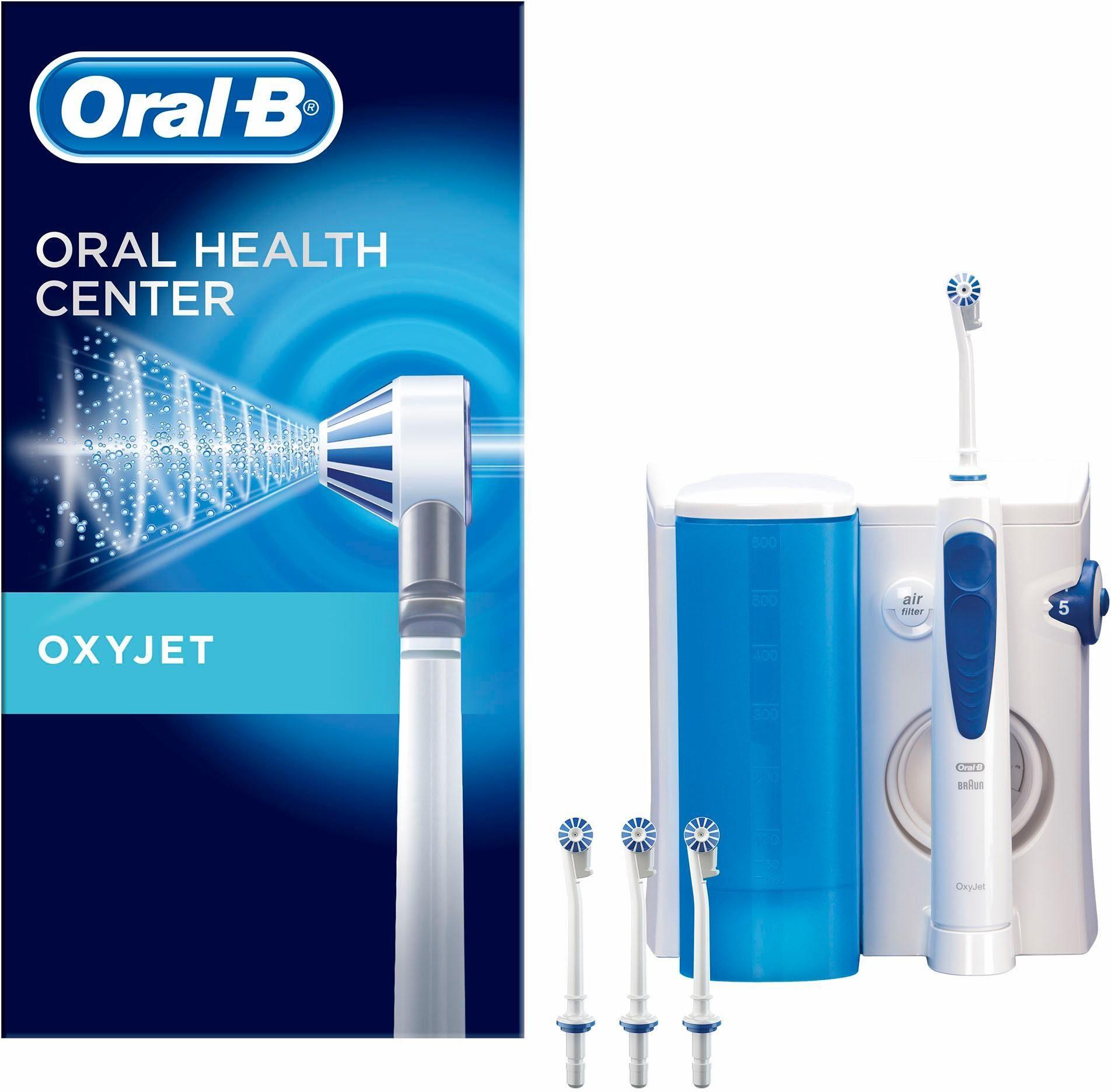 Oral-B Munddusche OxyJet Reinigungssystem