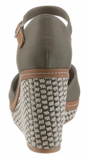 Tommy Hilfiger Elena 43 Sandalette, mit verstellbarer Schnalle