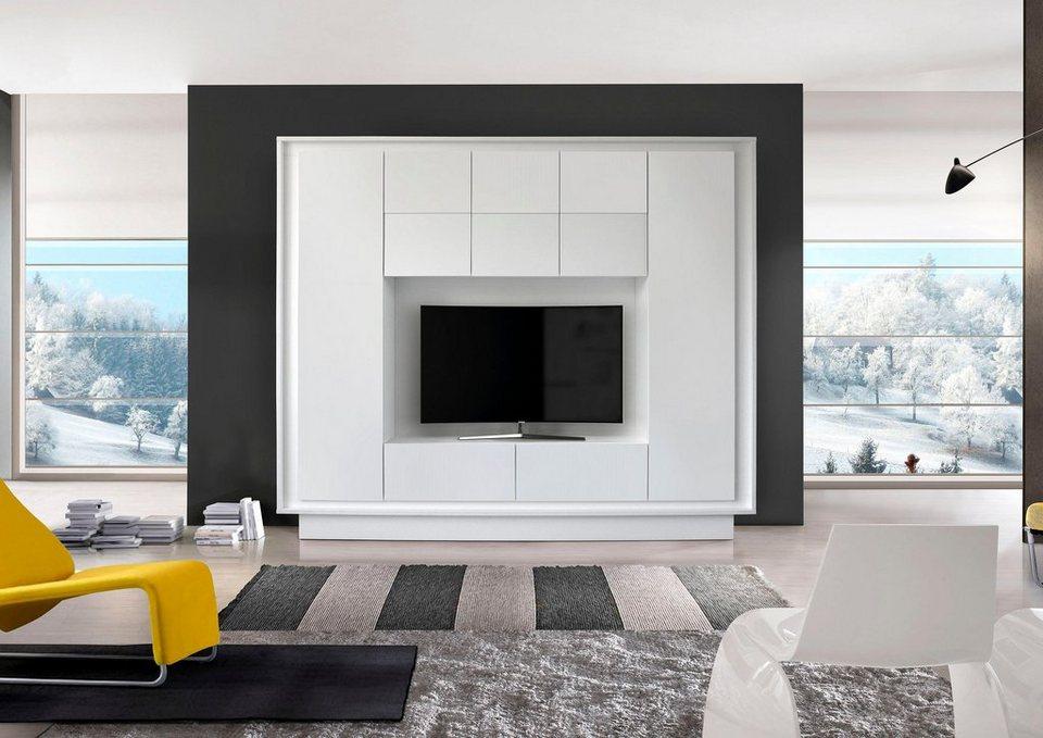lc wohnwand sky 1 online kaufen otto. Black Bedroom Furniture Sets. Home Design Ideas