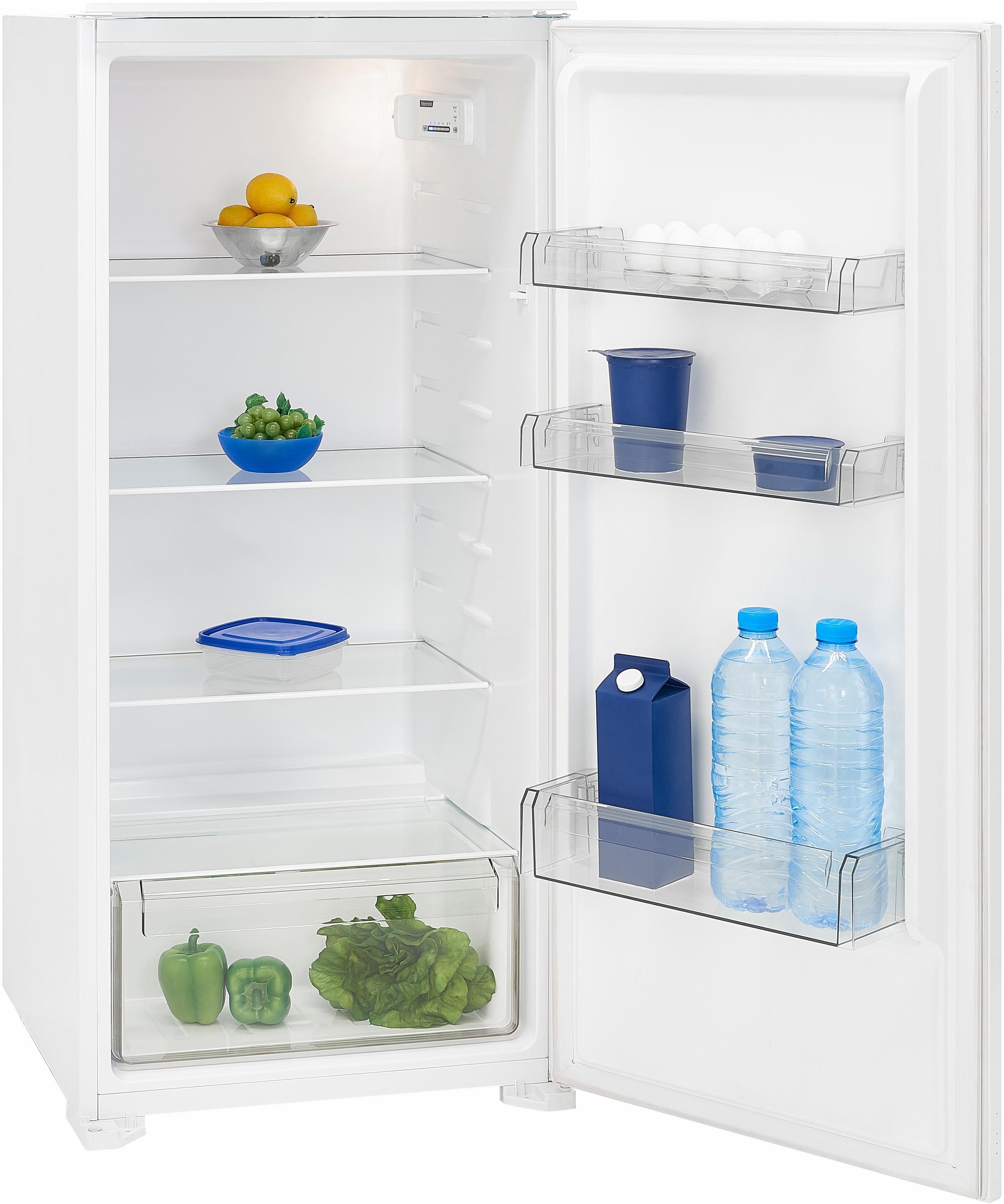 Exquisit Einbaukühlschrank EKS 201-4 RV, 122,6 cm hoch, 54,0 cm breit, A+, integrierbar