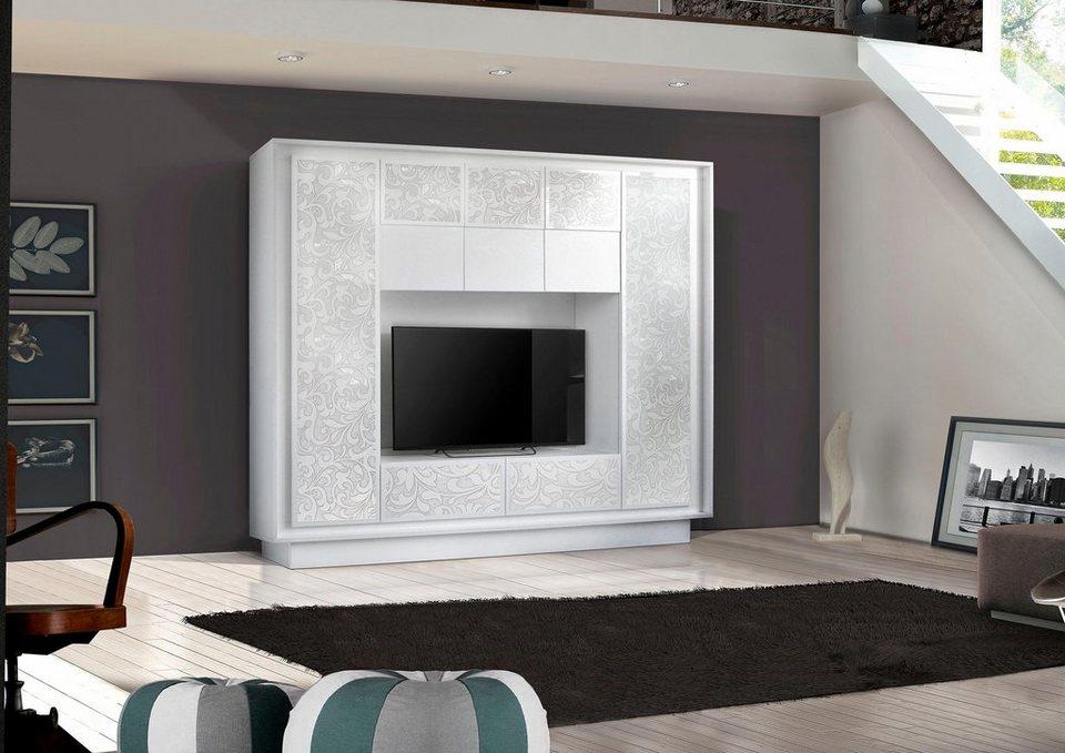 lc wohnwand sky 2 breite 240 cm online kaufen otto. Black Bedroom Furniture Sets. Home Design Ideas