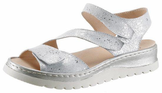 Brako Sandale, in Glitter-Optik