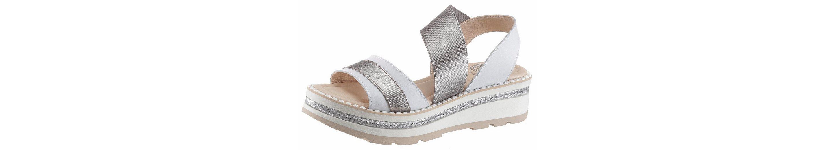 Brako Sandale, in Metallic-Optik