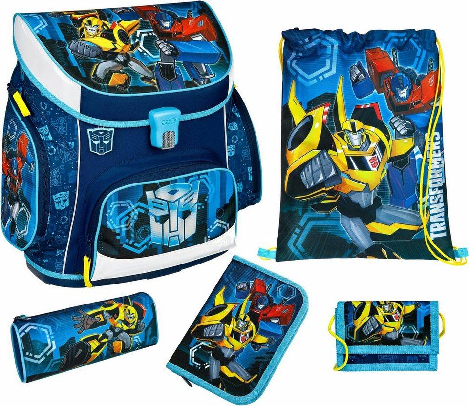 Scooli Schulranzen Set 5-tlg.,  Campus Up Transformers  online kaufen