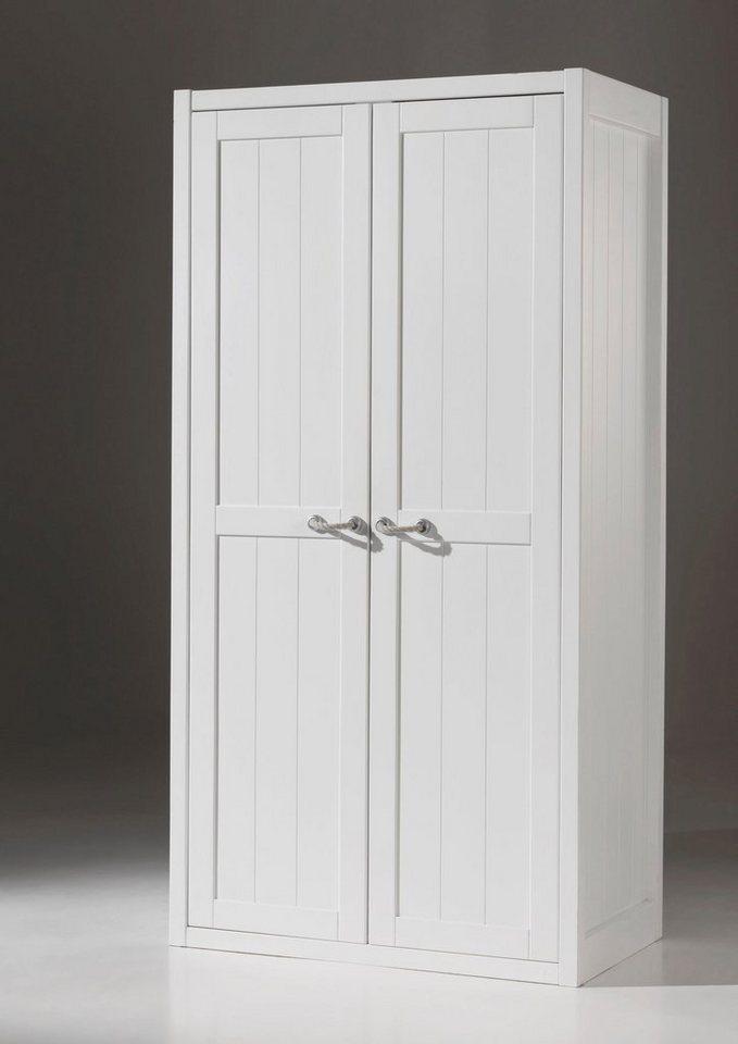 vipack kleiderschrank lewis in 2 breiten mdf oberfl che. Black Bedroom Furniture Sets. Home Design Ideas