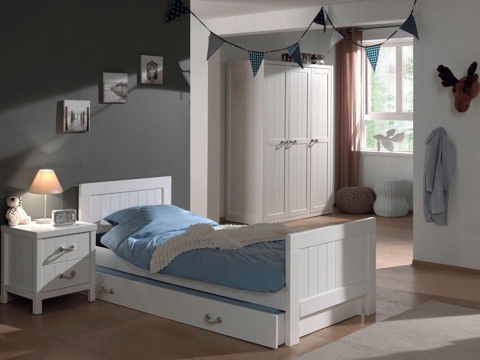 vipack bett lewis mdf oberfl che online kaufen otto. Black Bedroom Furniture Sets. Home Design Ideas