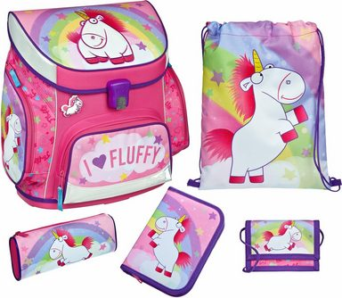 Scooli Schulranzen Set 5-tlg., »Campus Up Fluffy«