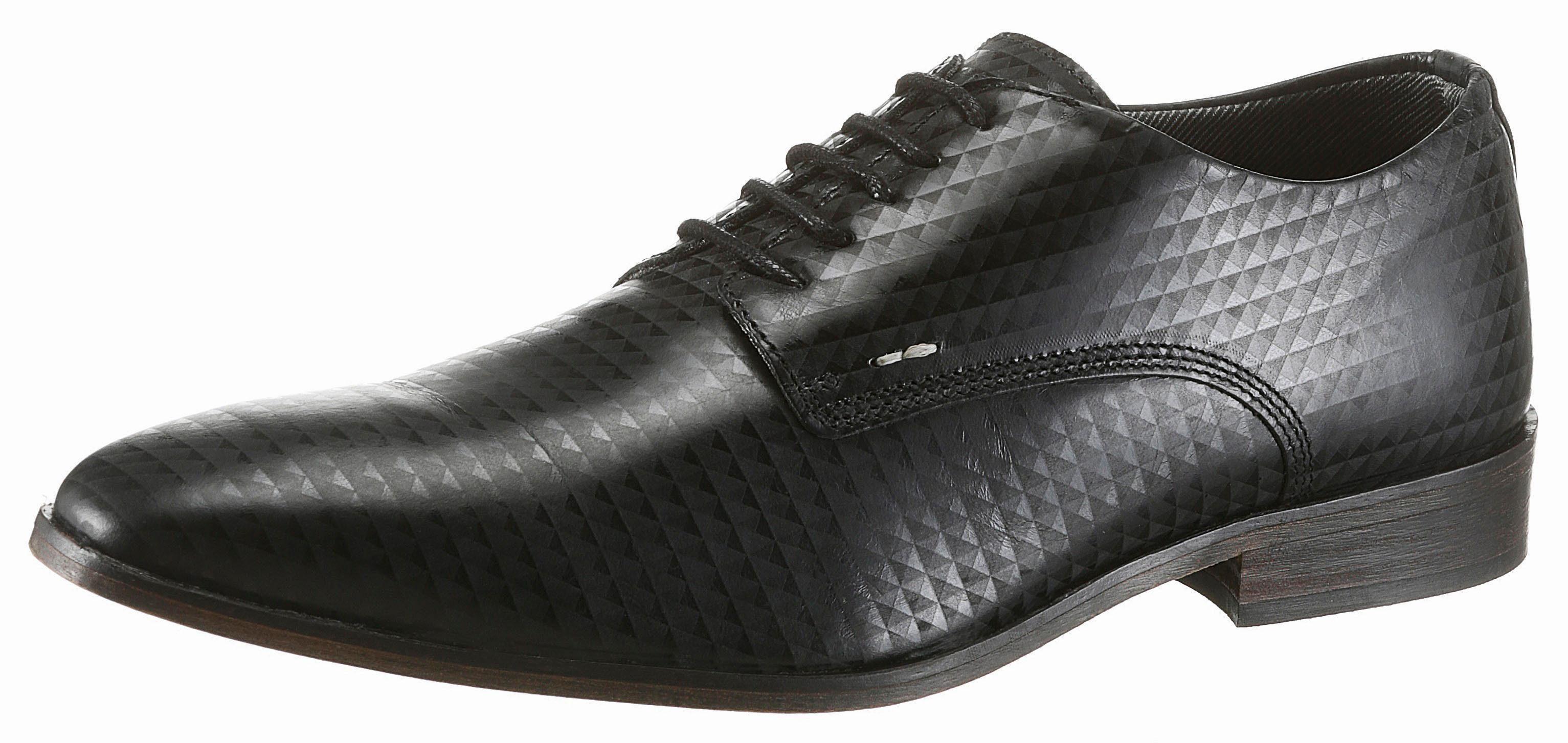 Bullboxer Schnürschuh, mit herausnehmbarer Decksohle online kaufen  schwarz