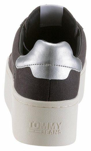 TOMMY JEANS Roxie 1 Sneaker, mit Schnürsenkeln mit Tommy Jeans Logo