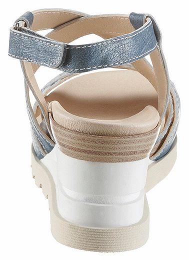 Brako Sandalette, mit Glitzerdetails