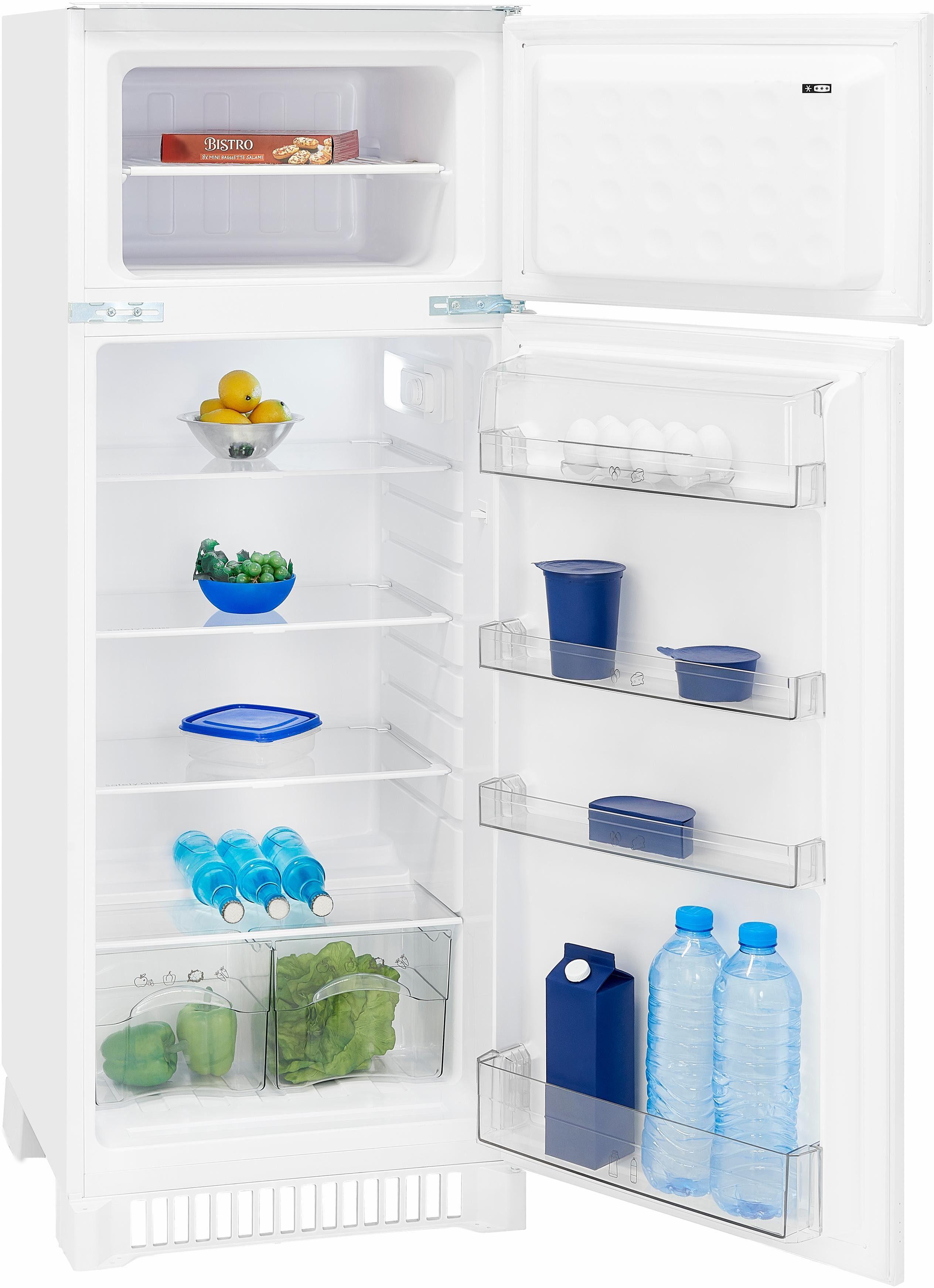 exquisit Einbaukühlschrank EKGC265-40-4, 144,5 cm hoch, 54,5 cm breit, Energieeffizienzklasse A++