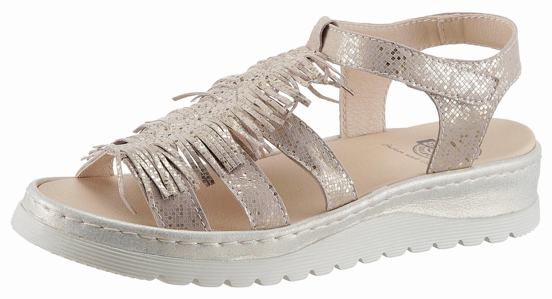 Brako Sandale, in Glitter-Optik online kaufen  goldfarben+goldfarben