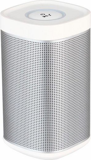 ready2music Tower 1 Multiroom-Lautsprecher (Bluetooth, 10 W, Bluetooth Reichweite bis 10m max., Eingebaute Freisprecheinrichtung zum Empfang von Anrufen)