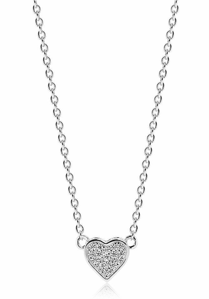 Sif Jakobs Jewellery Herzkette »AMORE, SJ-C2185-CZ« mit Zirkonia