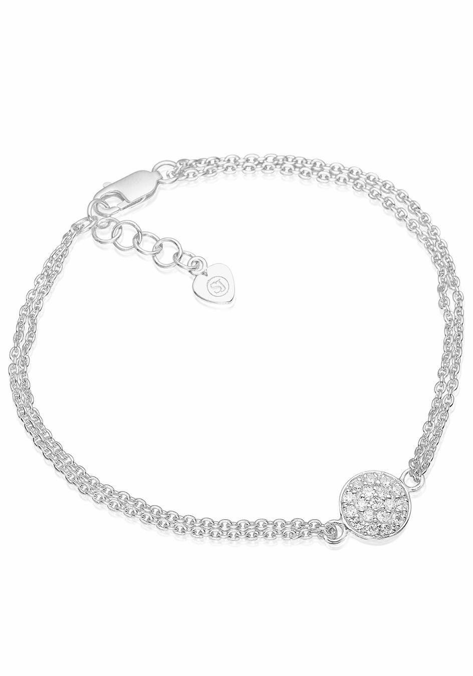 Sif Jakobs Jewellery Silberarmband »SACILE, SJ-B2071-CZ« mit Zirkonia