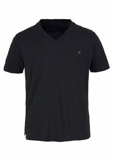 Replay V-Shirt, mit V-Neck (2 Stück)
