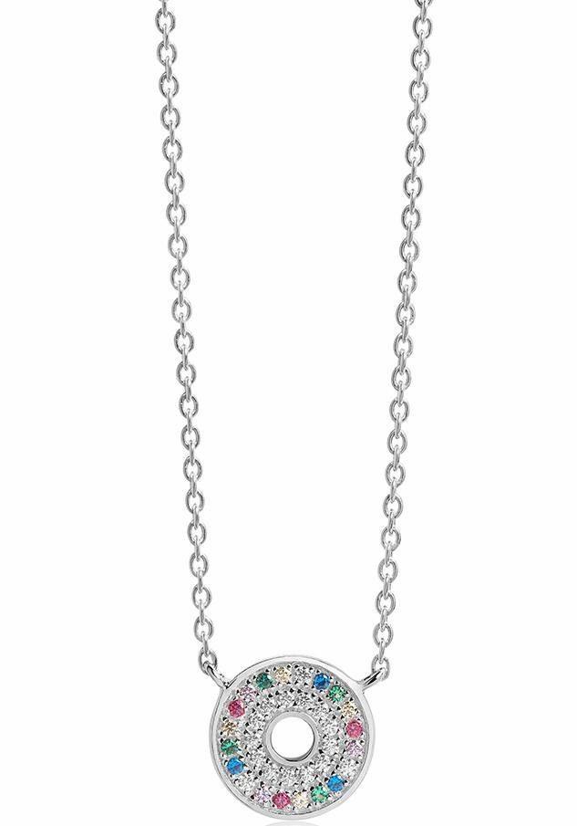 Sif Jakobs Jewellery Kette mit Anhänger »VALIANO, SJ-C1048-XCZ«, mit Zirkonia