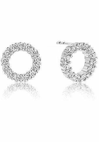 Sif Jakobs Jewellery Paar Ohrstecker »BIELLA UNO PICCOLO, SJ-E337-CZ«, mit Zirkonia