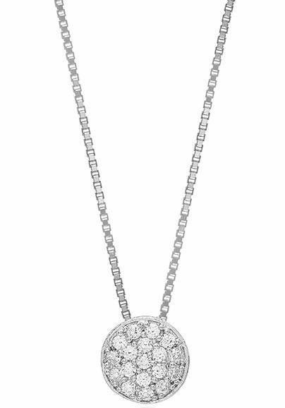 Sif Jakobs Jewellery Kette mit Anhänger »SACILE, SJ-P2071-CZ/45« mit Zirkonia