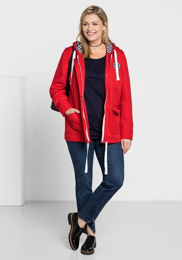sheego Casual Kurzjacke