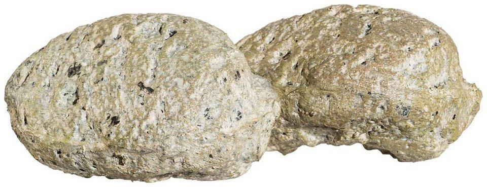Deko steine 6 st ck ca 11x6x8 5 cm kaufen otto for Gunstige gartendekoration