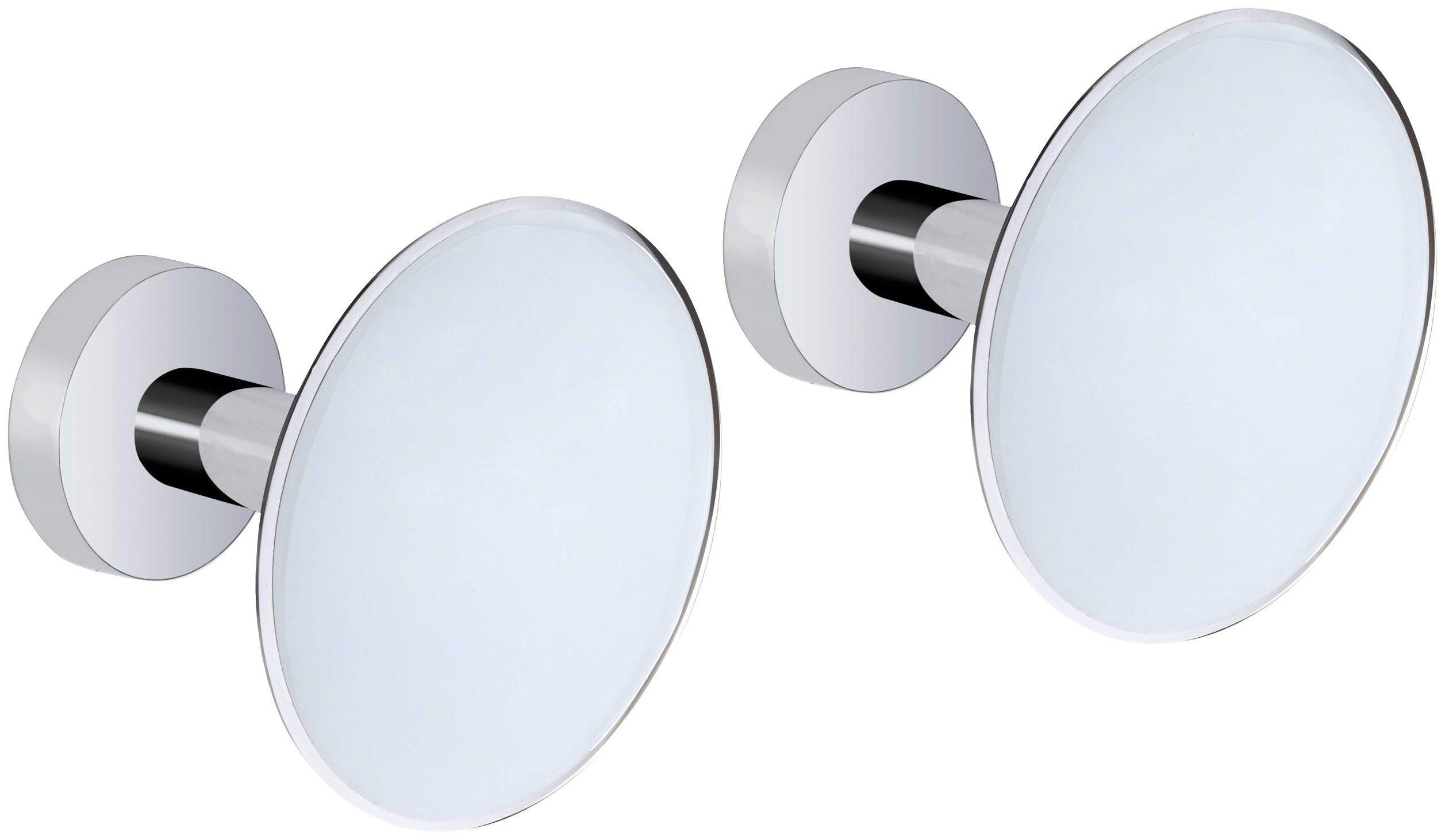 WENKO Wandhaken »Design Wandhaken White«, 2er-Set