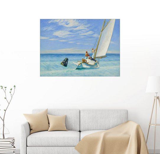 Posterlounge Wandbild - Edward Hopper »Dünung«