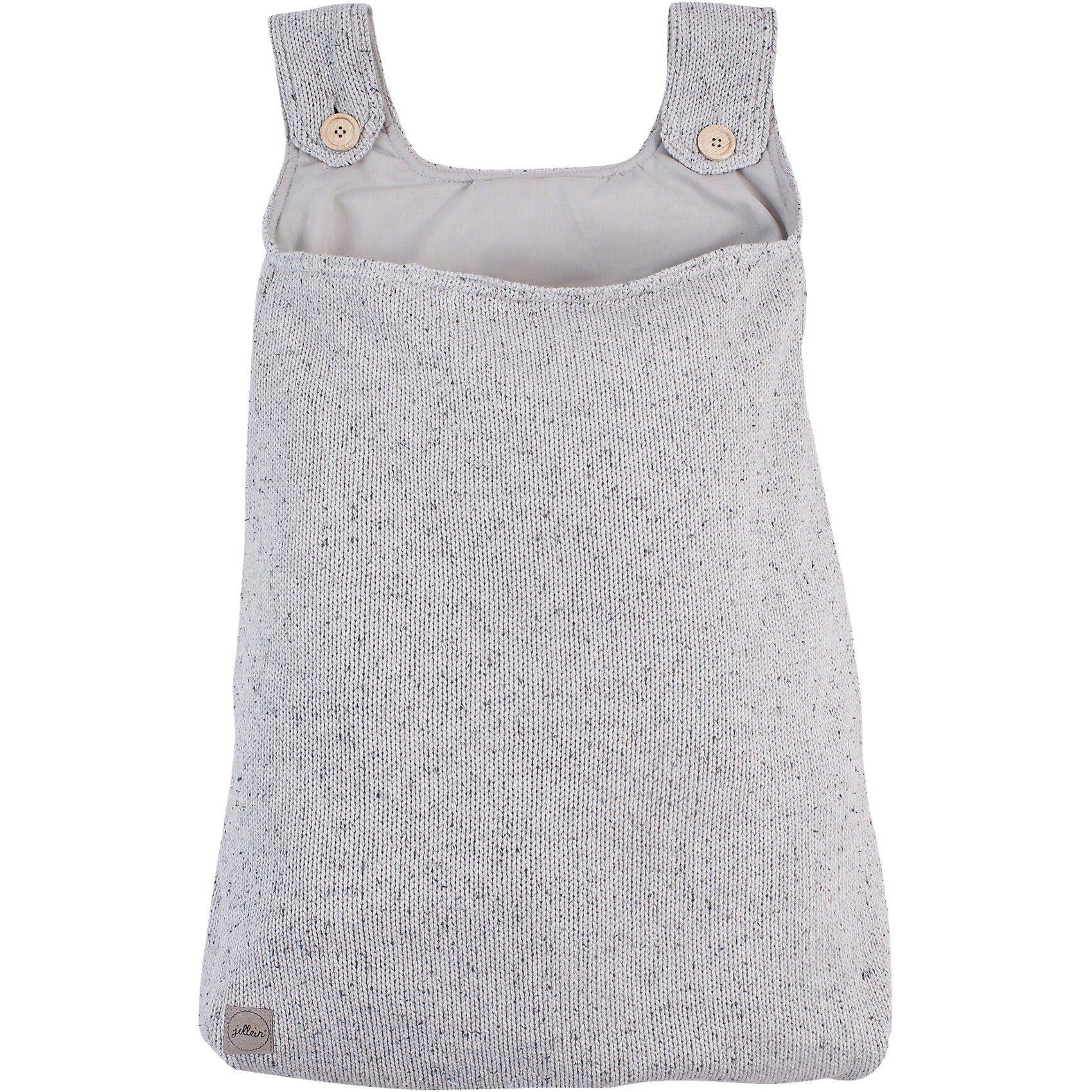Jollein Aufbewahrungstasche Confetti knit grau