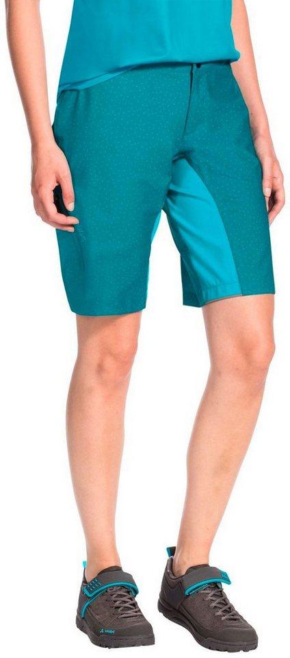 Damen,  Herren VAUDE  Hose Ligure Shorts Women grün | 04052285647032